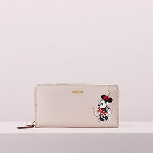 Kate Spade Minnie Mouse Lacey Wallet NWT